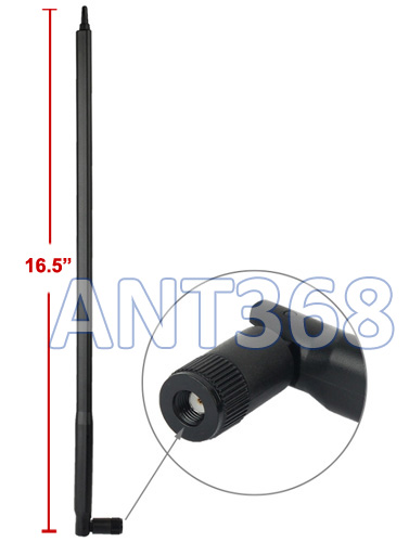 "Ultra High Gain 22-dBi Wireless Antenna With 17.5"" Rod"