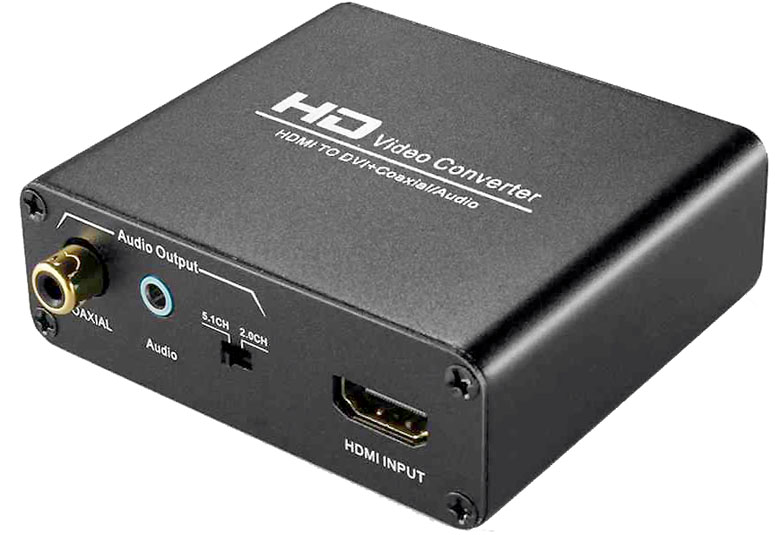 HDMI To DVI + Audio Converter