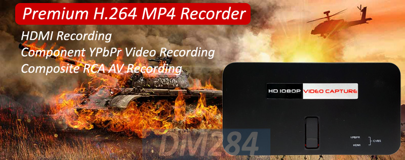 All-In-1 HDMI HD SD Digital Video Recorder With Video Editor Software