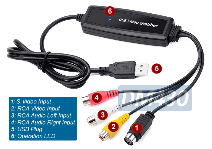 Composite RCA Video To USB DVR Adapter Digital MPEG Video Recorder on midi to usb wiring-diagram, usb keyboard wiring-diagram, usb cord wiring diagram, usb to usb wiring-diagram, usb charger wiring diagram, usb to rs232 wiring-diagram, usb to db9 wiring-diagram, micro usb wiring-diagram, usb to rj45 wiring-diagram, iphone usb wiring-diagram, usb to vga pinout, mini usb wiring-diagram, usb to ps2 wiring diagram, ipod to usb wiring-diagram, usb connection wiring diagram, usb cable wiring connections, usb pinout color code, usb pinout diagram, usb 3.0 wiring-diagram,