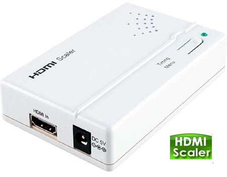 Premium HDMI To HDMI Scaler 1080p 1920x1200 Pixels - Model HDV302