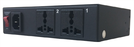 2-Port Remote Power Switch - Web Control