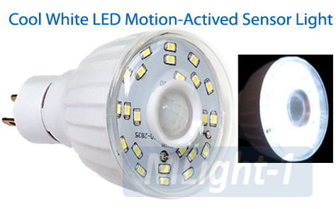 24-LED Motion Sensor LED Light With Smart Photocell Sensor
