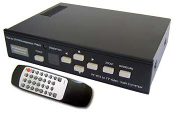 allaboutadapters Professional Series For Computer To NTSC PAL Composite S-Video Down Converter